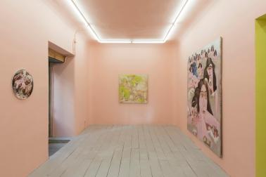 Michael Horsky en la Galería Alegría. 2015