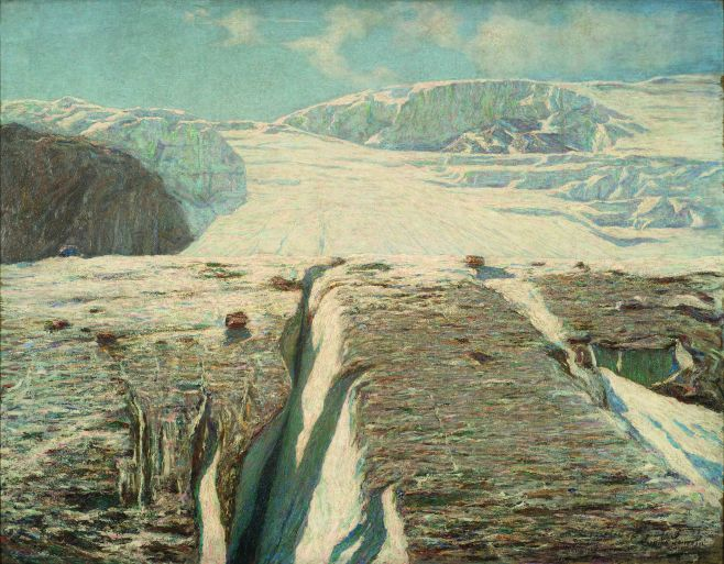 Emilio Longoni Ghiacciaio [Glaciar], 1905